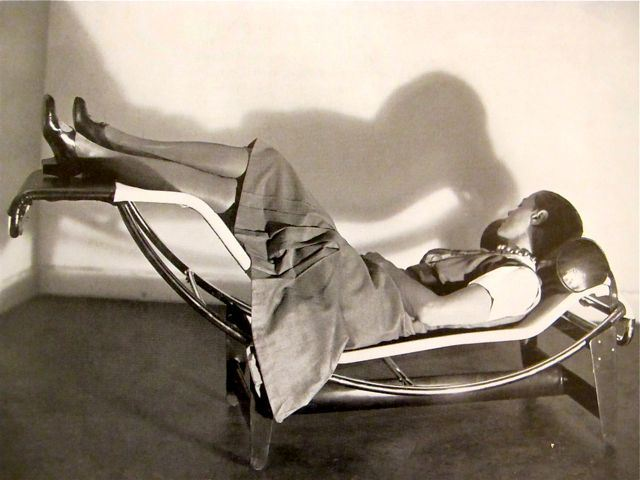 Chaise Longue Le Corbusier.