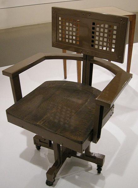 Frank Lloyd Wright Swivel armchair Larkin
