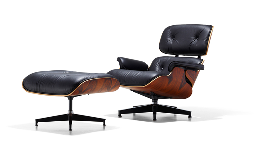 Lounge stoel Charles & Ray Eames
