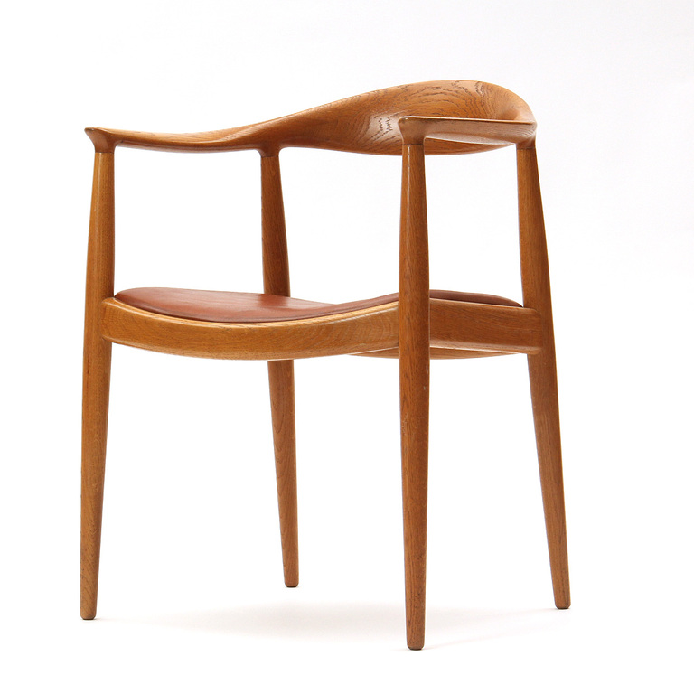 Round chair Hans J. Wegner