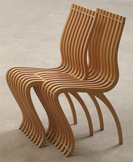 Twee Design Stoelen.Schizzo Twee In Een Stoel Ron Arad Designstoelen Org