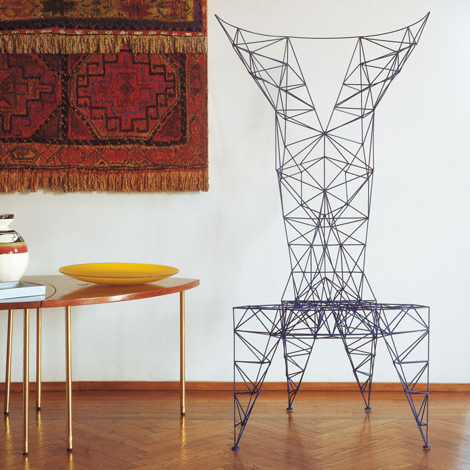 Pylon stoel Tom Dixon