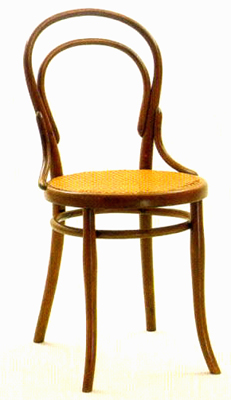thonet stoel model no 14